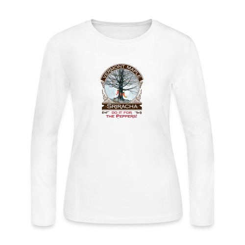 Vermont Maple Sriracha - Women's Long Sleeve Jersey T-Shirt