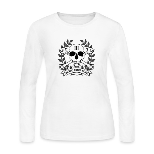 Moto Ergo Sum - Women's Long Sleeve Jersey T-Shirt