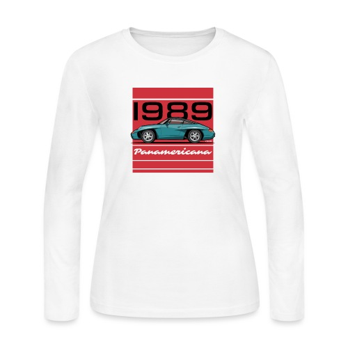 1989 P0r5che Panamericana Concept Car - Women's Long Sleeve Jersey T-Shirt