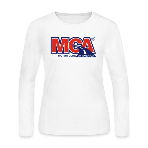 MCA_Logo_WBG_Transparent - Women's Long Sleeve Jersey T-Shirt