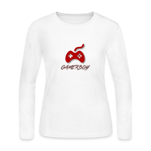 Gamerboy - Women's Long Sleeve Jersey T-Shirt