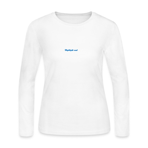highlight real merchandise - Women's Long Sleeve Jersey T-Shirt