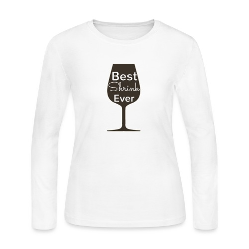 Alcohol Shrink Is The Best Shrink - Women's Long Sleeve Jersey T-Shirt