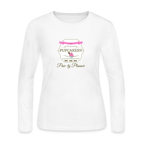 Paw-ty Planner - Women's Long Sleeve Jersey T-Shirt