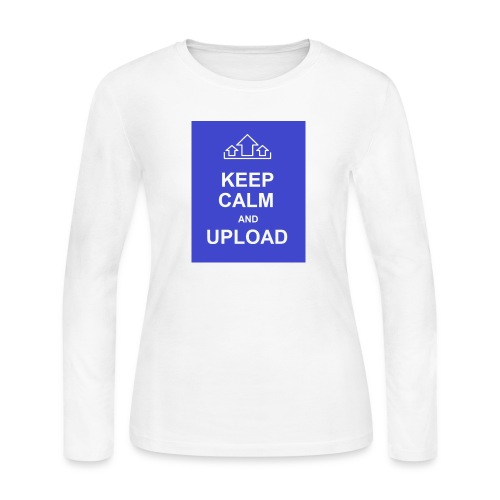 RockoWear Keep Calm - Women's Long Sleeve Jersey T-Shirt