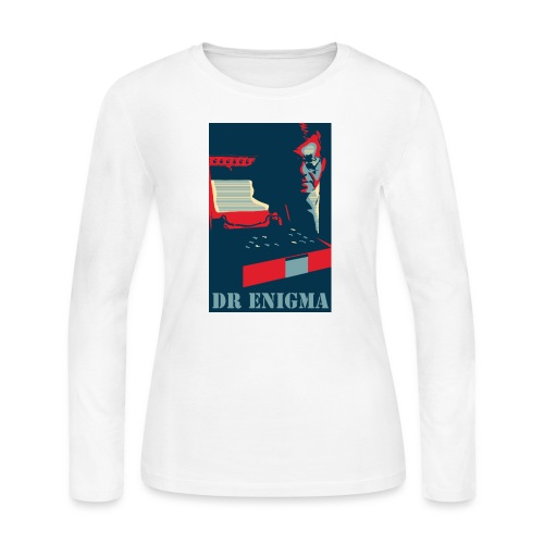 Dr Enigma+Enigma Machine - Women's Long Sleeve Jersey T-Shirt