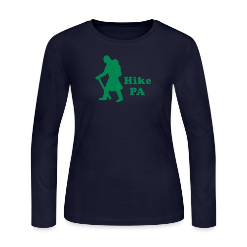 Hike PA Girl - Women's Long Sleeve Jersey T-Shirt