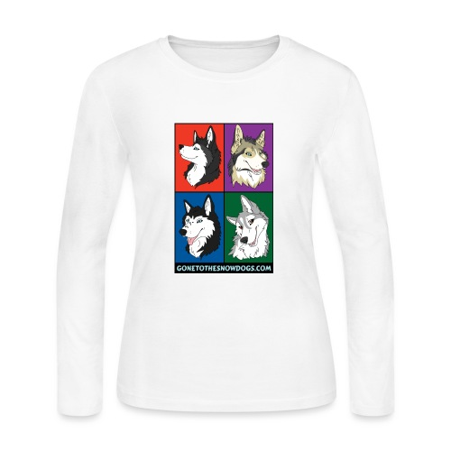 The Husky Girls - Women's Long Sleeve Jersey T-Shirt