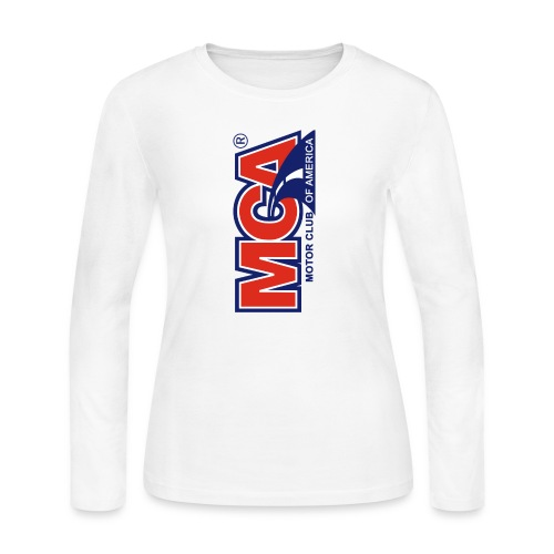 MCA Logo Iphone png - Women's Long Sleeve Jersey T-Shirt
