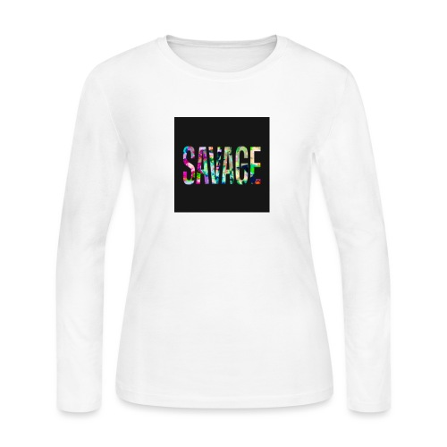 Savage Wear - Women's Long Sleeve Jersey T-Shirt
