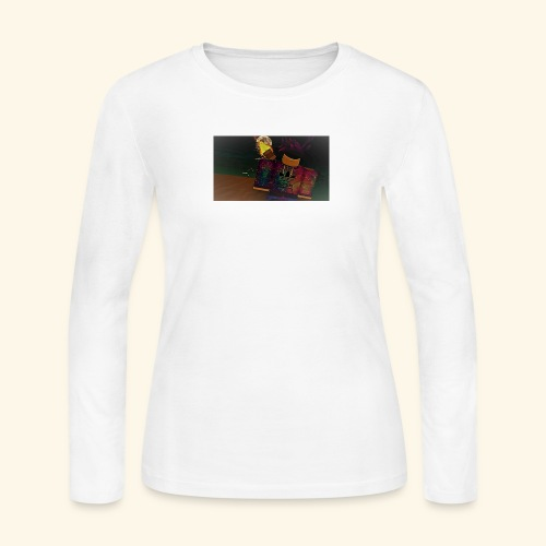 (roblox logo) - Women's Long Sleeve Jersey T-Shirt