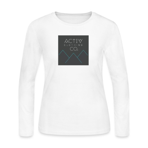 Activ Clothing - Women's Long Sleeve Jersey T-Shirt