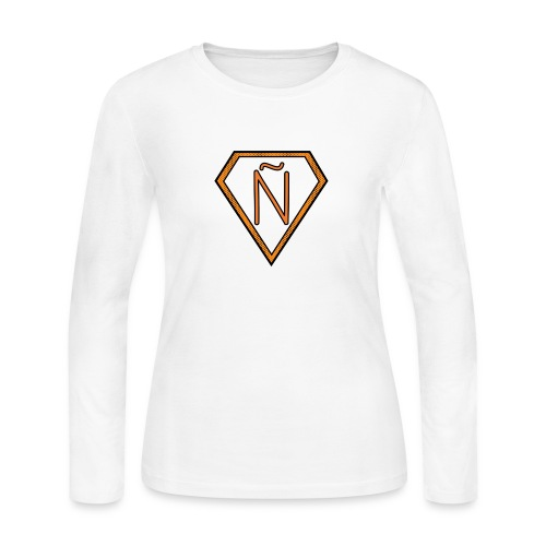 Ñ Orange - Women's Long Sleeve Jersey T-Shirt