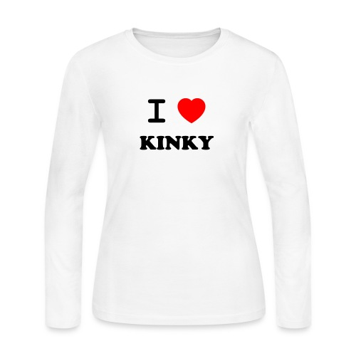 I Love Kinky - Women's Long Sleeve Jersey T-Shirt