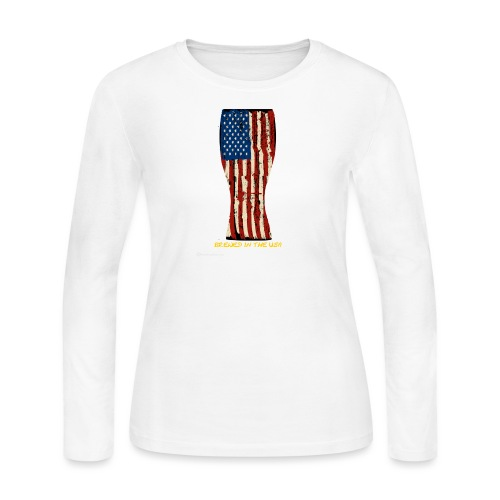 Brewed In The USA - Women's Long Sleeve Jersey T-Shirt