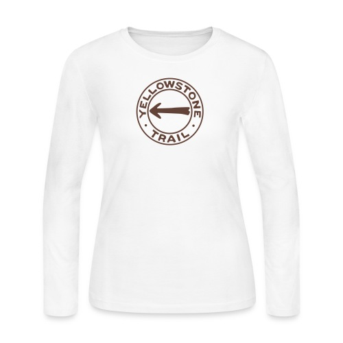 Yellowstone Trail - Women's Long Sleeve Jersey T-Shirt