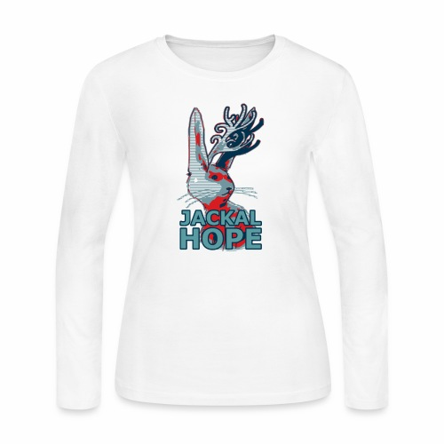 Jackalhope - Women's Long Sleeve Jersey T-Shirt