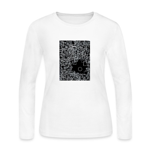 there is one out there negative - Women's Long Sleeve T-Shirt