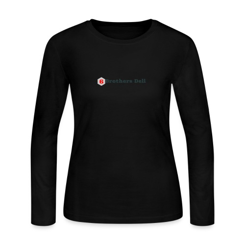 6 Brothers Deli - Women's Long Sleeve Jersey T-Shirt