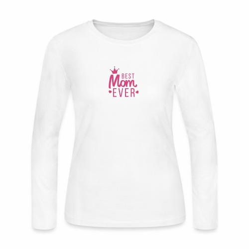 Best mom ever - Women's Long Sleeve Jersey T-Shirt