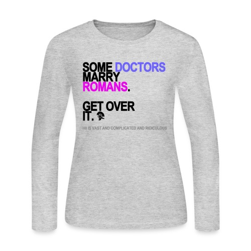 some doctors marry romans lg transparent - Women's Long Sleeve Jersey T-Shirt