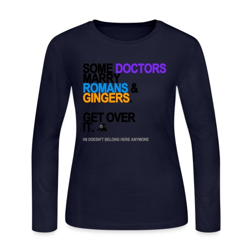 some doctors marry romansgingers lg tran - Women's Long Sleeve Jersey T-Shirt