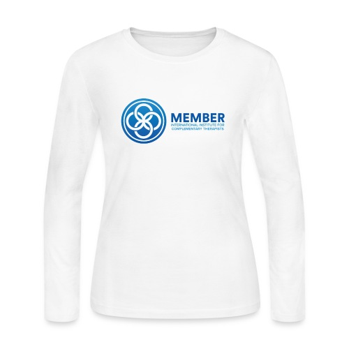 IICT Member Logo - Women's Long Sleeve Jersey T-Shirt