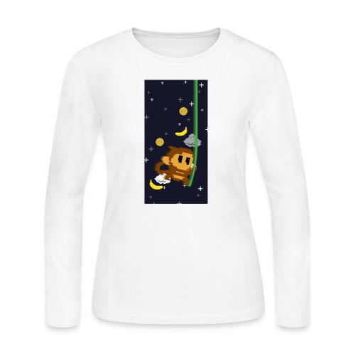 case2 png - Women's Long Sleeve Jersey T-Shirt