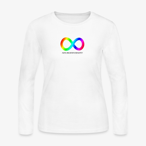 Neurodiversity - Women's Long Sleeve Jersey T-Shirt