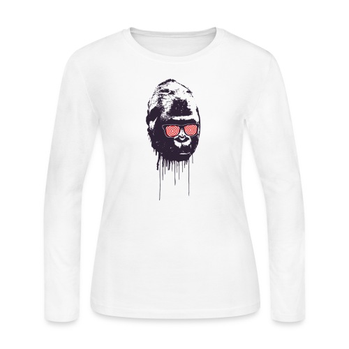 xray gorilla - Women's Long Sleeve Jersey T-Shirt
