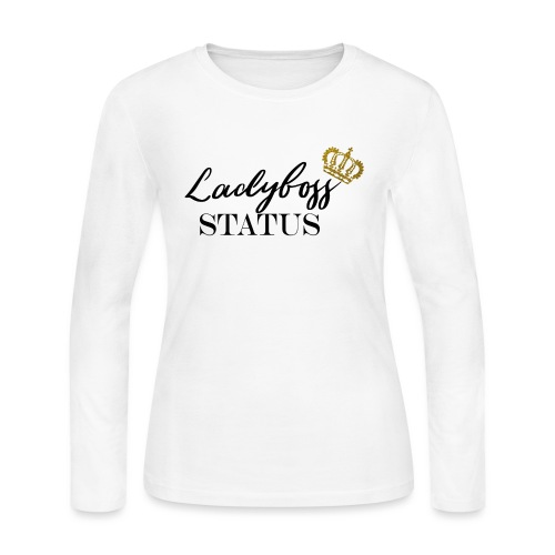 Lady Boss Status - Women's Long Sleeve Jersey T-Shirt