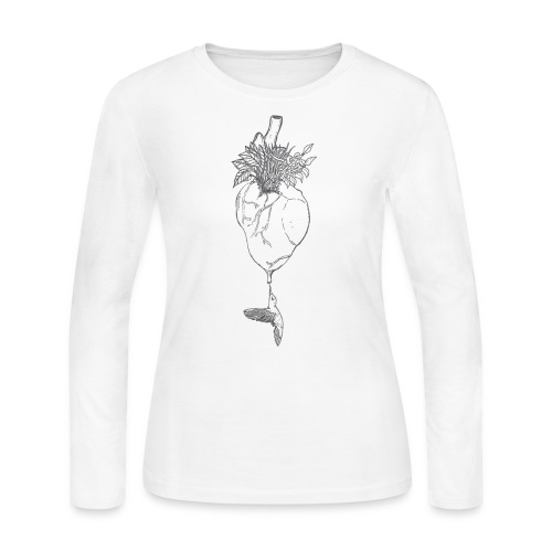 hummingbirdheart - Women's Long Sleeve Jersey T-Shirt