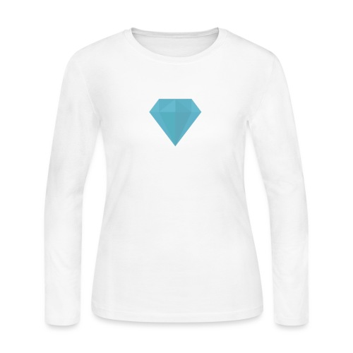 long sleeve Diamond shirt - Women's Long Sleeve Jersey T-Shirt
