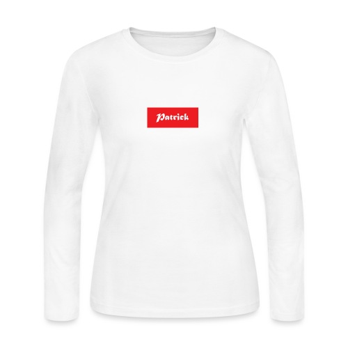 Patrick supreme - Women's Long Sleeve Jersey T-Shirt