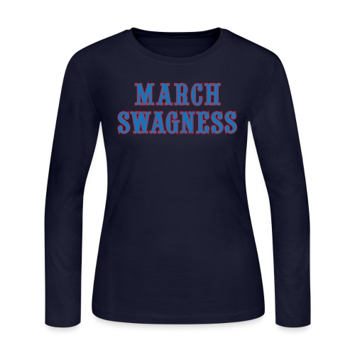 march swagness blred - Women's Long Sleeve Jersey T-Shirt