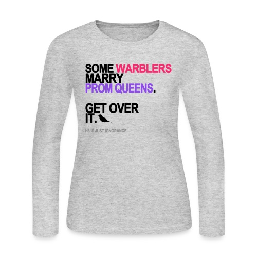 some warblers marry prom queens lg trans - Women's Long Sleeve Jersey T-Shirt