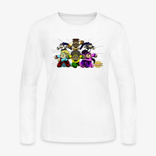 The Guardians of the Cloudgate w/ Logo - Women's Long Sleeve Jersey T-Shirt
