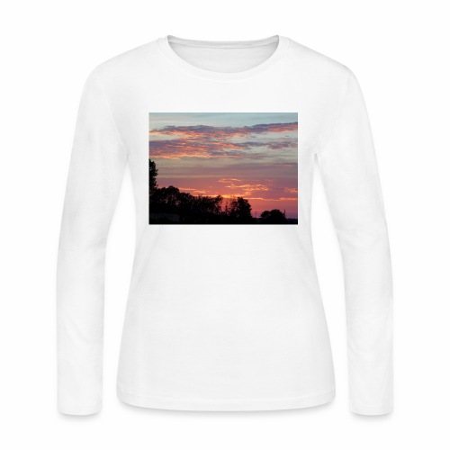 Sunset of Pastels - Women's Long Sleeve Jersey T-Shirt