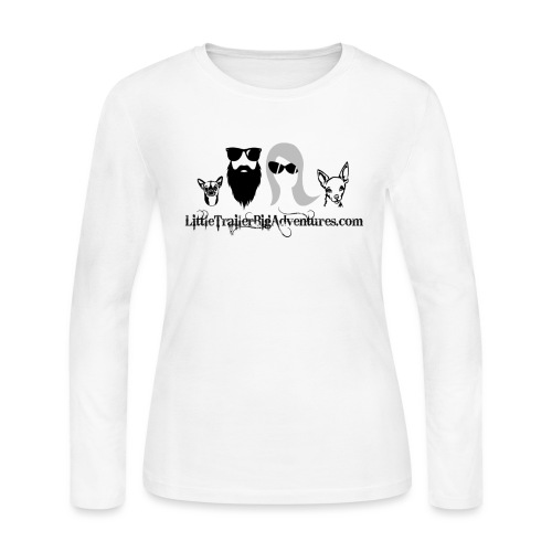 LTBA Heads Logo - Women's Long Sleeve Jersey T-Shirt