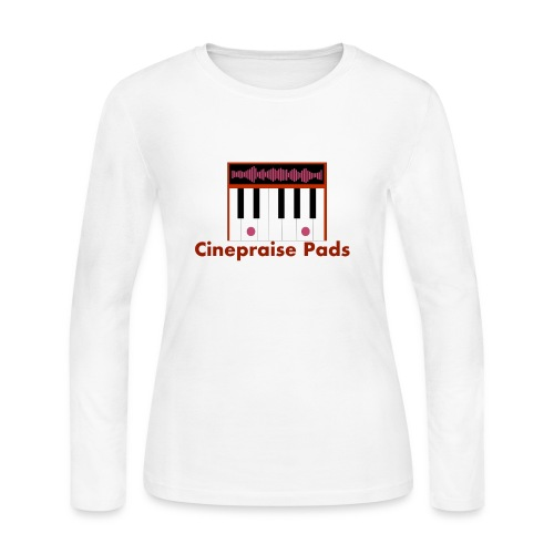 Cinepraise Pads Orange Black - Women's Long Sleeve Jersey T-Shirt