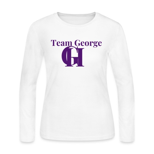 Team George - Women's Long Sleeve Jersey T-Shirt