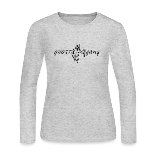 GhostGang Logo - Women's Long Sleeve Jersey T-Shirt