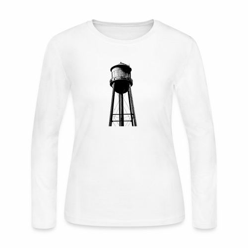 Water Tower - Women's Long Sleeve Jersey T-Shirt