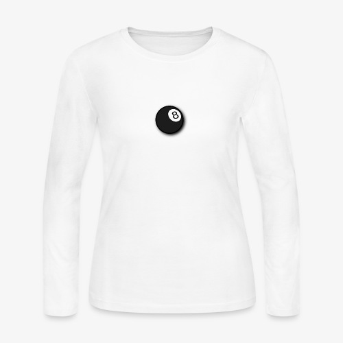 8 ball - Women's Long Sleeve Jersey T-Shirt