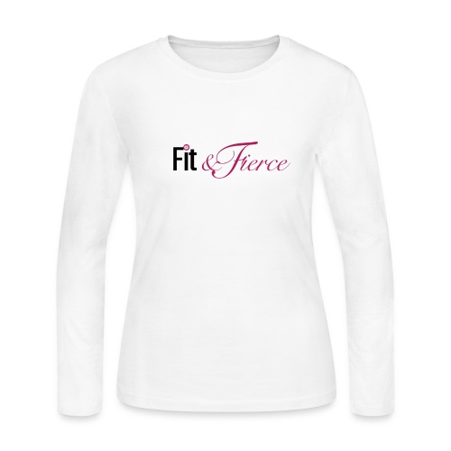 Fit Fierce - Women's Long Sleeve Jersey T-Shirt