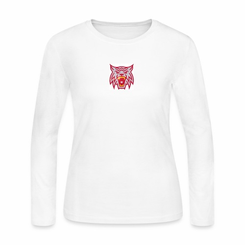 Hoodrow Wilson Wildcats - Women's Long Sleeve Jersey T-Shirt