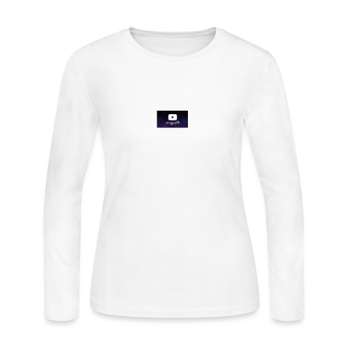 my life is youtube poster - Women's Long Sleeve Jersey T-Shirt