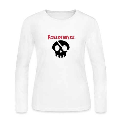 skull pirate 2 - Women's Long Sleeve Jersey T-Shirt