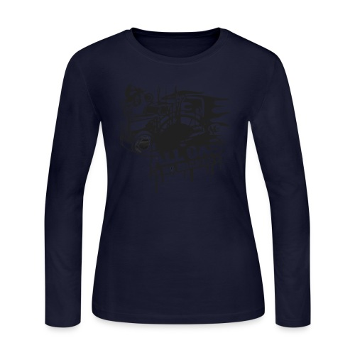 All Gas no Brakes - Women's Long Sleeve Jersey T-Shirt