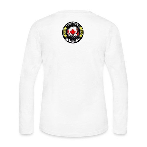 Yellow Vests Canada - Women's Long Sleeve Jersey T-Shirt